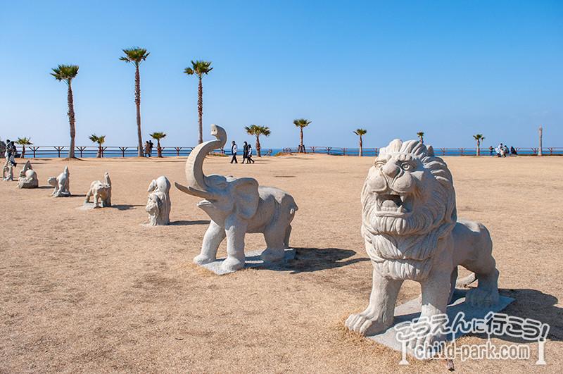 二見ヶ浦公園聖地の石像