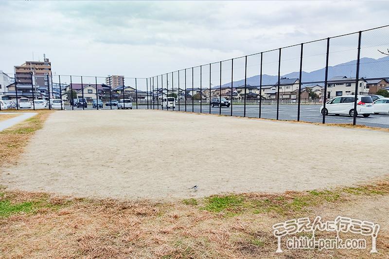 賀茂中央公園の運動スペース