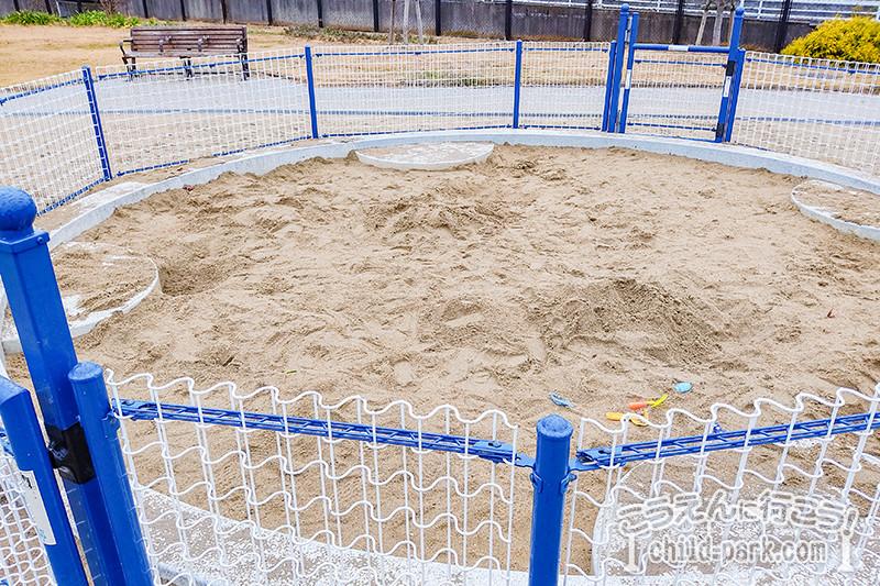 賀茂中央公園の砂場