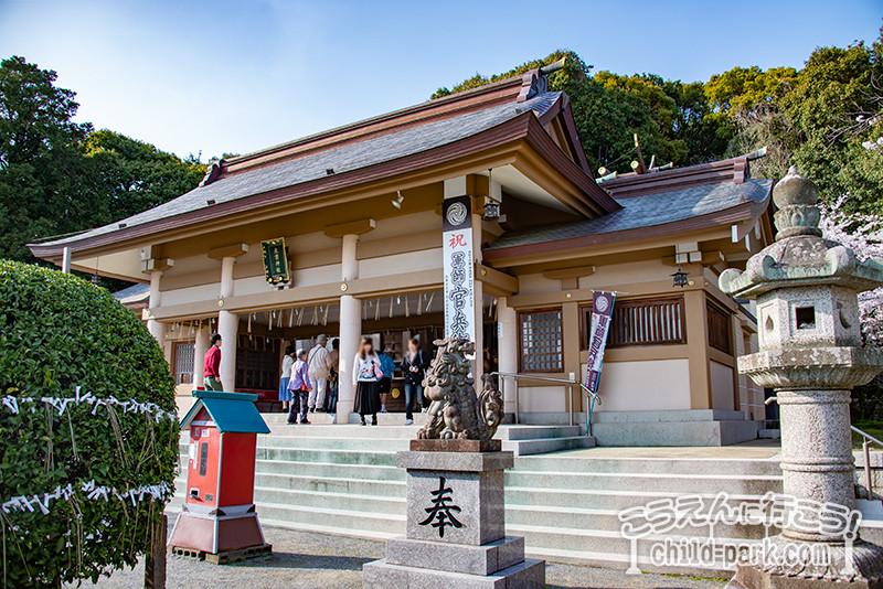 福岡市中央区光雲神社