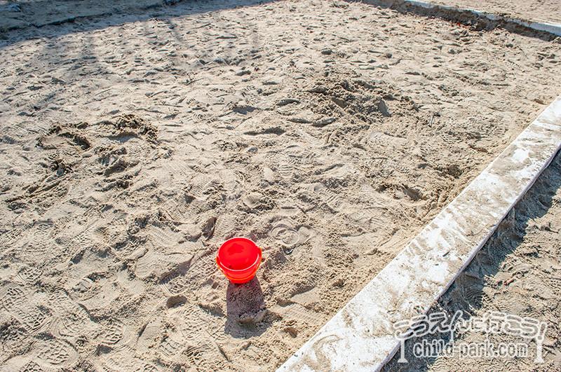 西油山中央公園の砂場