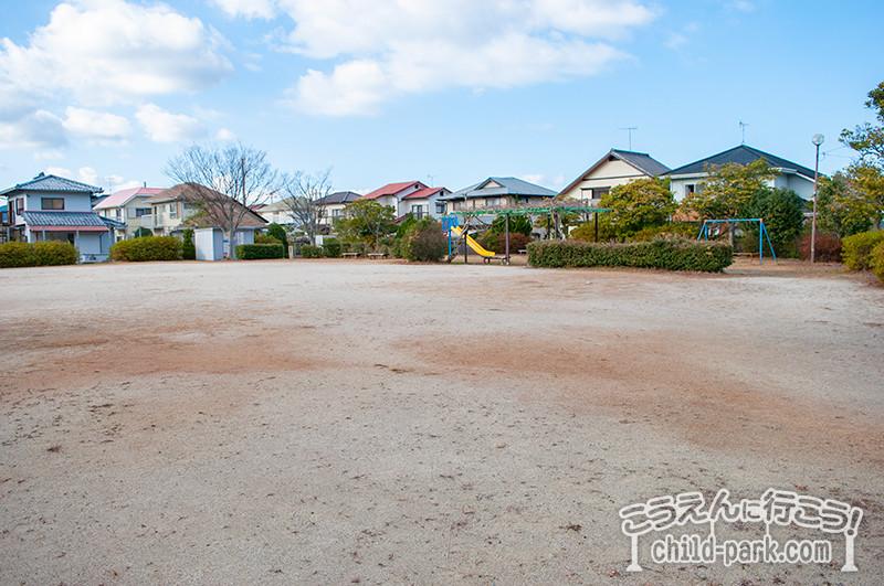 さわら台 東公園の運動スペース