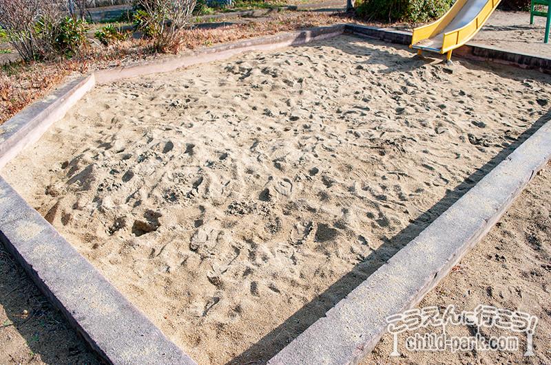 さわら台西公園の砂場