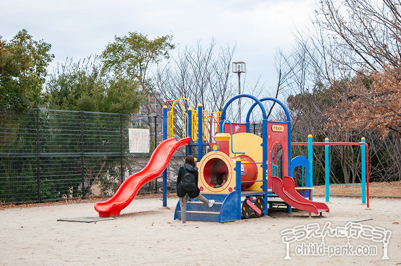 西南杜の湖畔公園 自由広場の遊具