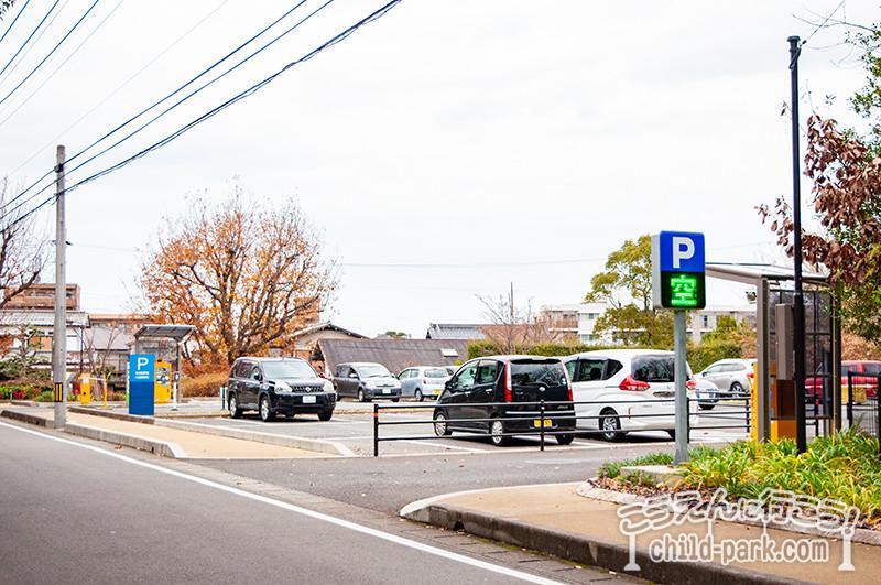 西南杜の湖畔公園 第3駐車場