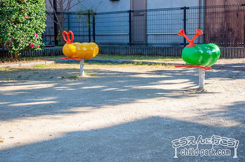 田村3号公園の遊具