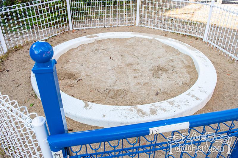 東入部中公園の砂場