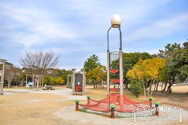 今宿運動公園 タワーウェブアドベンチャー