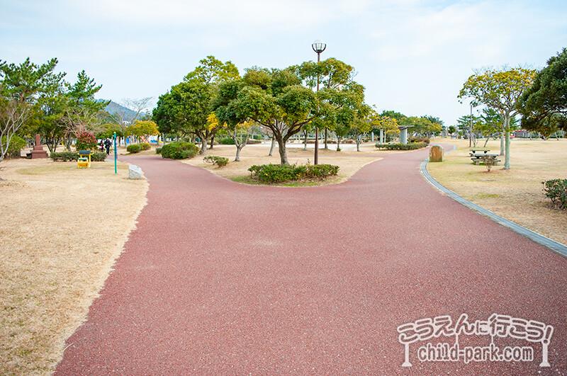 今宿運動公園のジョギングコース