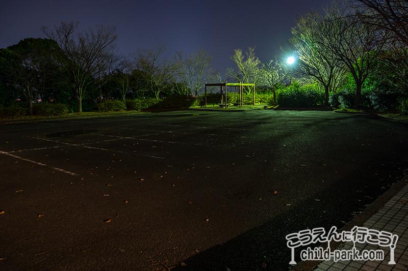 南公園西展望台の駐車場