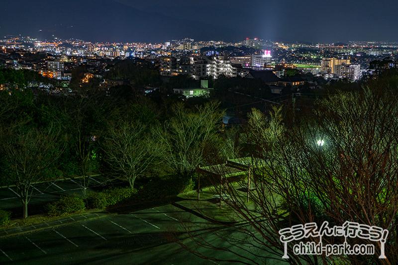 南公園西展望 南西方面の夜景