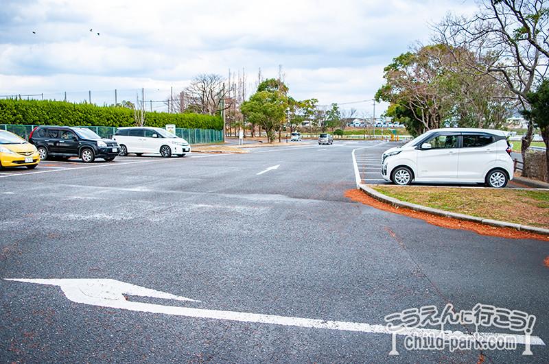 西部運動公園 駐車場