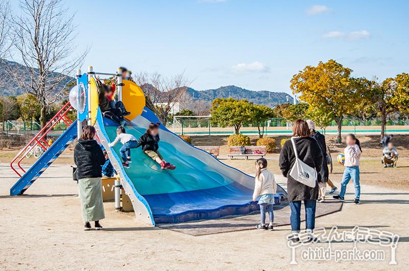 西部運動公園の遊具