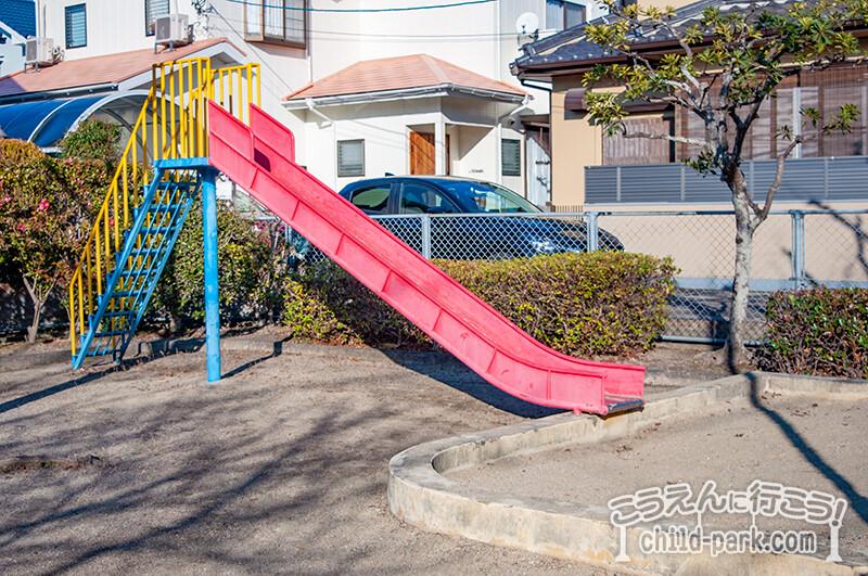 写真:田村1号公園のすべり台