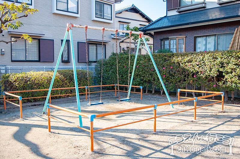 写真:田村1号公園のブランコ